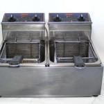 Double Deep Fryer $80