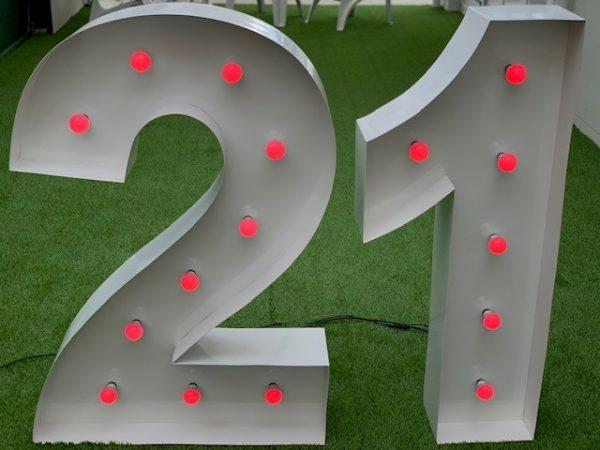 Life Size LED 21